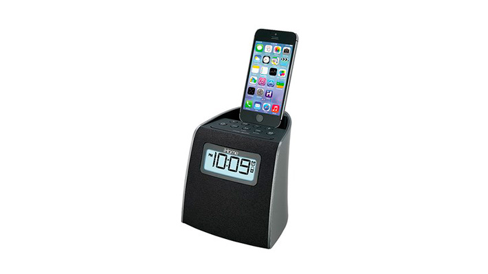 iPL22, radio reloj para dispositivos iPhone/iPod con conexión Lightning.